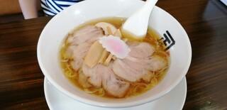 煮干らー麺 カネショウ - チャーシュー麺+味玉