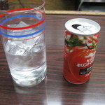 (有)旭屋酒店 - 赤半(トマトジュース、焼酎100ml)