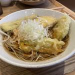 中村麺兵衛 - 野菜天そば