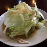 天府酒家 - サラダという名のレタス