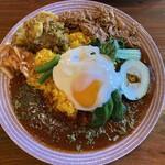スープカレーとスパイスカレーの店 きち - 料理写真:スリランカカレーにたまごトッピング