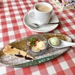 133389231 - スペシャルランチコース 小さなデザート盛り合わせ・ホットコーヒー
