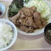 豊蘭 - 料理写真:生姜焼き定食