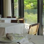 ガーデンレストラン - 室内席