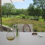 ガーデンレストラン - テラス席