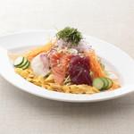 平八亭 - 海鮮サラダ 420円