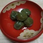 菊乃井 - 柔らか青梅が清々しい⭐️ワインの風味はほんのりと。