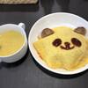 とれとれカフェ - 料理写真:パンダオムライス 1200円(税込)
