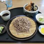 八駿庵 - 料理写真:天丼セット 830円