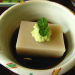 蕎麦匠雀 - 蕎麦豆腐