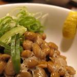 わっぱ定食堂 - 納豆