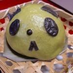 13340880 - パンダまん・抹茶(320円)