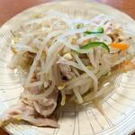 龍興刀削麺舗 - 【2020/7】にんにくだれのゆで豚