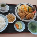 133401510 - 唐揚げ定食¥1,150