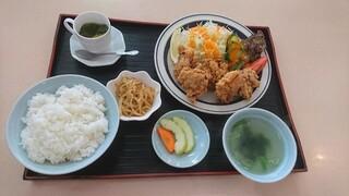 中華レストラン 東東 - 唐揚げ定食¥1,150