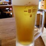 Isohamagyogyou - 生ビール:350円