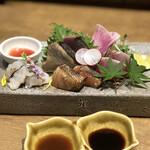 名物わら焼きとマグロ料理 北堀江 ほおずき -
