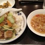 梅蘭 - 2012, Jun 豚バラかけご飯ランチバージョン