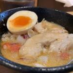 麺屋M - チーズリゾット スープin