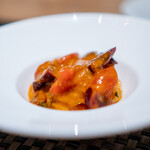 ARMONICO - フルーツトマトとアメリカンチェリーの冷製パスタ