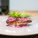 ARMONICO - 豊後水道の鮮魚と紫キャベツ