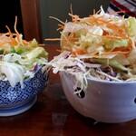 誠寿司 - 料理写真:サラダ (普通と小)