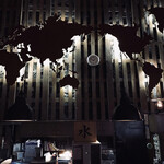 133429831 - 調理場奥の世界地図