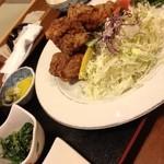 味処冨士 - 唐揚げ定食