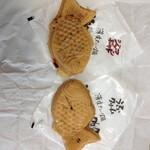 薄皮たい焼 粉こ楽 - 料理写真: