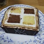 133434223 - ダミエ。バタークリームが重い(>_<)