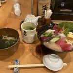 寿司 海老原 - 海鮮丼とにゅうめん