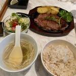 伊達の牛たん本舗 - 大麦牛ステーキ定食
