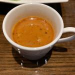 蘭麻 - エビの濃厚スープ