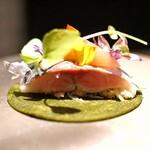 SECRETO - クレープ・鯵・蟹・ミョウガ・酢味噌