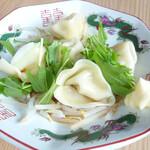中華そば 日の出家 - 水餃子