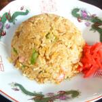 中華そば 日の出家 - 半炒飯