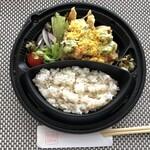 とり田 - *チキン南蛮:950円(税込)・・チキン南蛮、雑穀米ご飯、サラダなど。