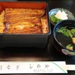Shinoya - うな重(松)※三河産