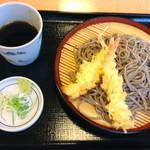 13345628 - 「海老天せいろ」(580円)