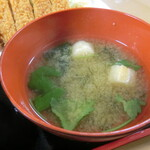 千歳屋 - 味噌汁