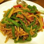 恵園 - 青椒肉絲