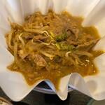 toukyouhitsujiniryourikamiyakihorumosa - 紙やき定食 羊