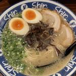 hakatara-menshinshin - 煮卵入りらーめん