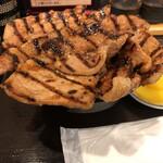 ぶたいち - ミックス豚丼大盛(1260円)