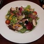 クッチーナ イタリアーナ アミーチ - 生ハムと季節野菜のサラダ仕立て(チョイス)