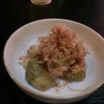 屋台の天ぷら 水の冠 - 料理写真:冷やしなすび