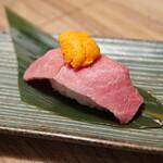 すし酒場 フジヤマ - 肉うに寿司