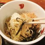 久呂無木 - 料理写真:おろしぶっけかそば
