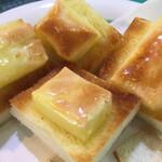 わらしべ - 料理写真:チーズトースト