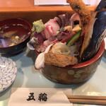 五輪鮨 - 海鮮丼